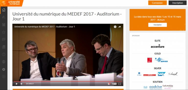 digital event medef